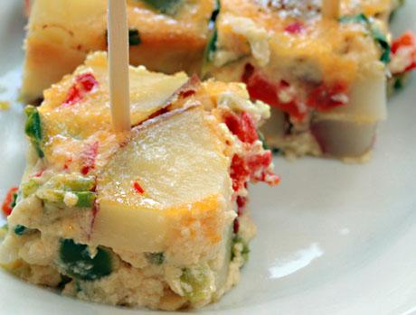 ... (Recipe: oven-baked tortilla española) {vegetarian, gluten-free