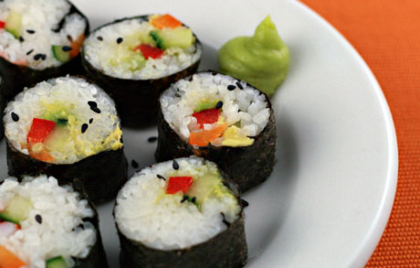 Vegetablesushi