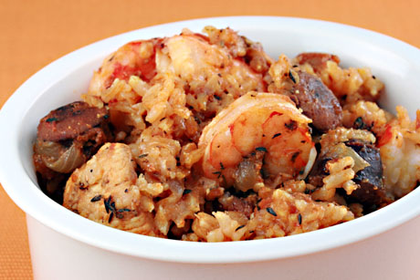 ... Pantry®: Long grain white rice (Recipe: chicken and shrimp jambalaya