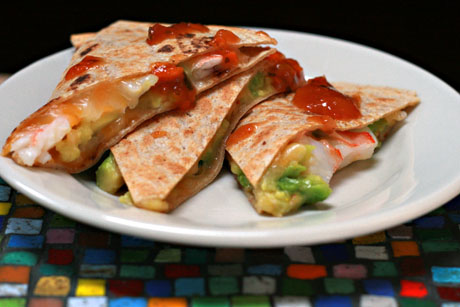 Shrimp-avocado-quesadillas