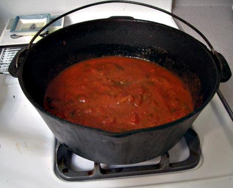 Spaghetti gravy