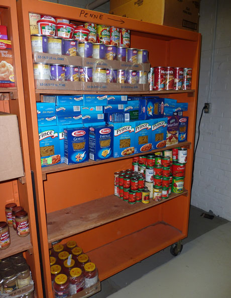 Glocester food pantry