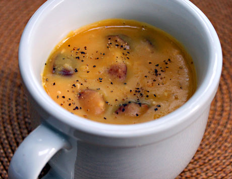 Yellow split pea soup