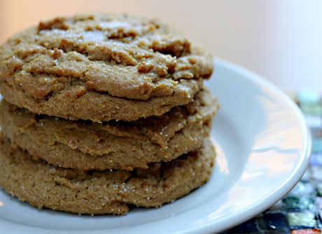 Spice snap cookies.