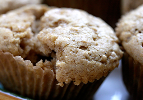 Pear spice cupcakes