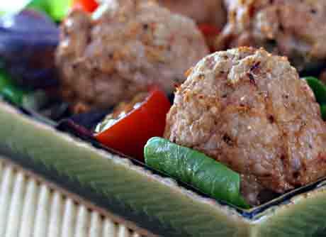 Chipotle turkey meatballs