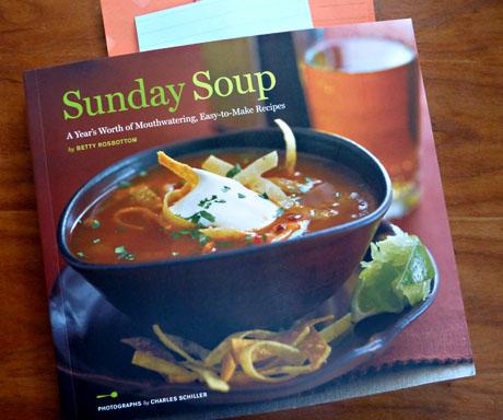 Sunday Soup cookbook