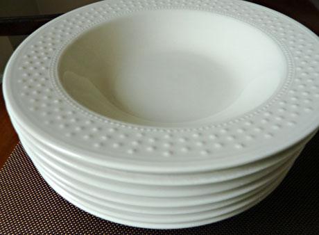 Julia's seven soup bowls