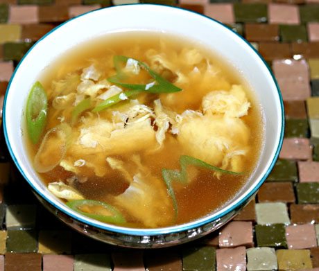 Quick and easy egg drop soup recipeSoup Chick®