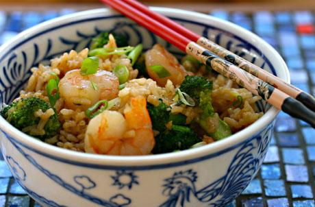 ... scallion fried rice fried rice shrimp broccoli and scallion fried rice