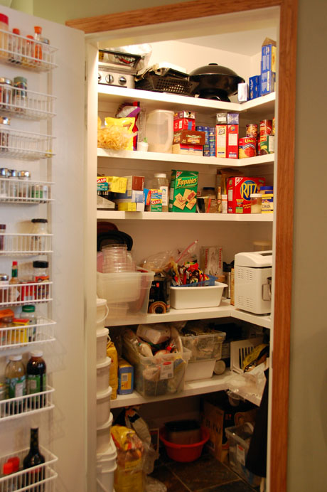 The perfect pantry other people 39 s pantries 117 for Cost to build a pantry