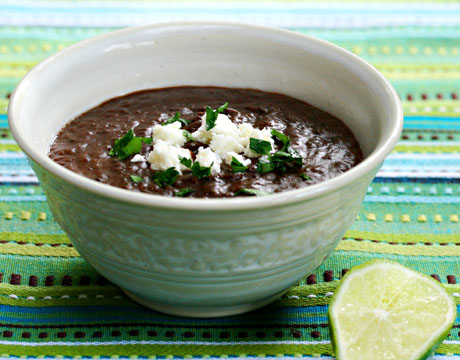 Black bean soup with RoTel