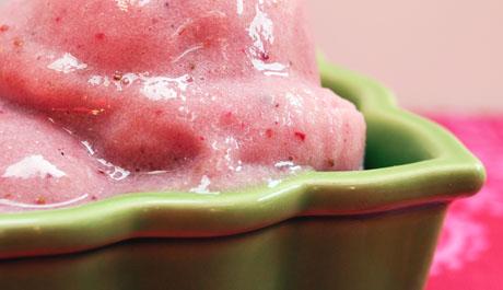 Frozen fruit whiz