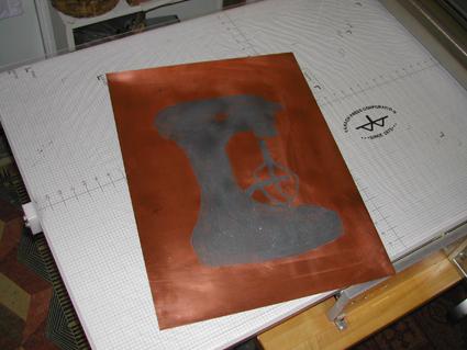 Mixer Copper PlateTYPEPAD