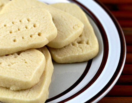 The Perfect Pantry®: Unsalted butter (Recipe: scotch shortbread)