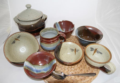 Seven soup bowls from Canada