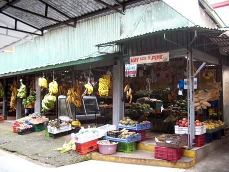 Costa rica San Ramon market