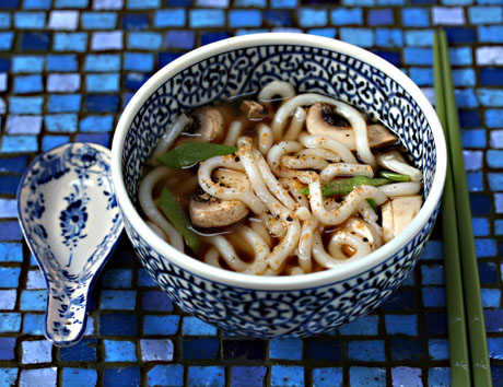 Quick And Easy Seven Spice Udon Noodle Soup Recipe Soup Chick
