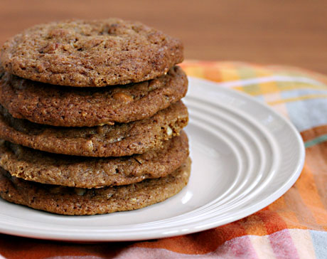 Espresso nut cookies