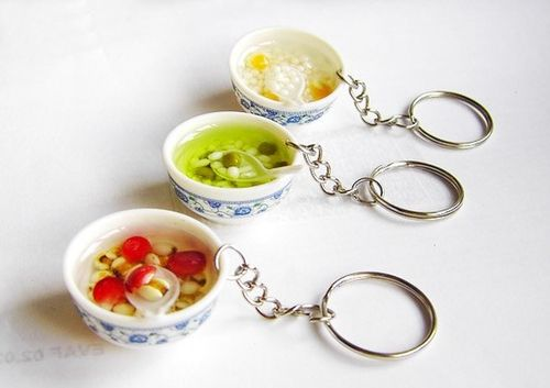 soup key chains