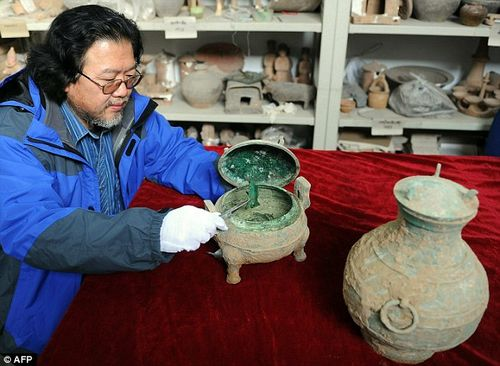 2400 year old Chinese soup