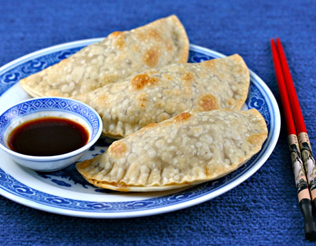 Asian turkey and cabbage empanadas