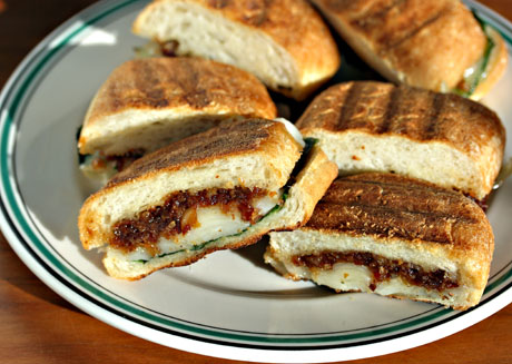 Recipe for bacon jam and cheese panini - The Perfect Pantry®