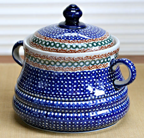 Blue Polish tureen
