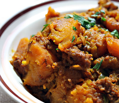 Recipe for slow cooker Indian-spiced butternut squash {vegan, gluten ...