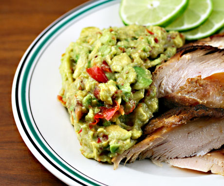 What's not to love about bacon guacamole? It's creamy and salty, and so easy to make.