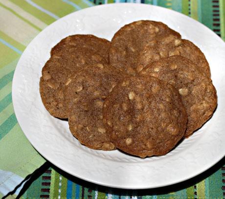 Crispy-oatmeal-cookies