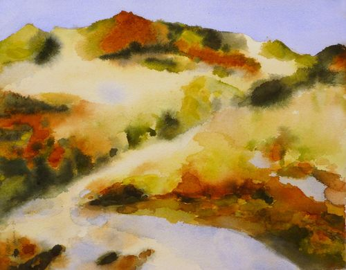 Fall Dunes #10 13.5 x 10.5