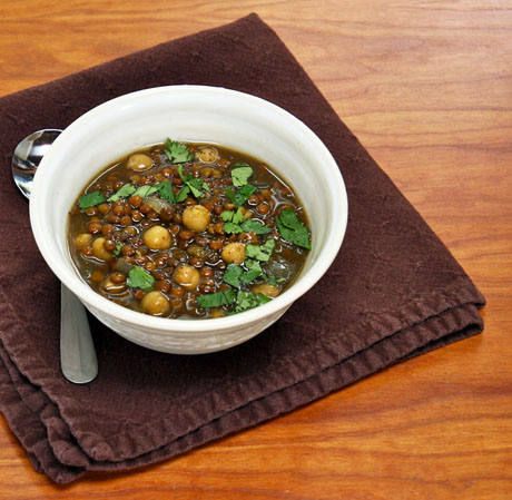 Lentil-and-chickpea-soup