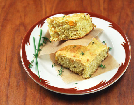 Cornbread-with-fresh-corn-and-herbs-1