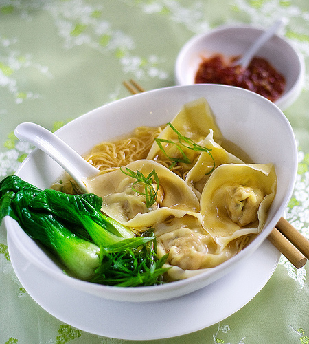 Wonton-noodle-soup