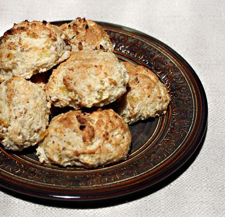 Raisin-banana-scones
