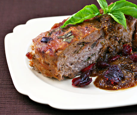 Turkey Meatloaf With Gravy Turkey Meatloaf With Fig Gravy