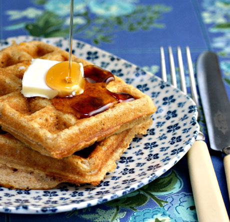 Maple-walnut-waffles
