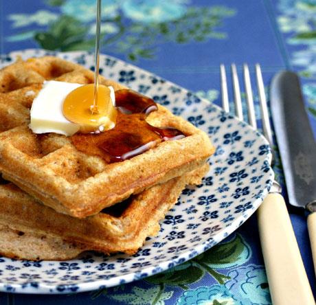 Maple-walnut-waffles