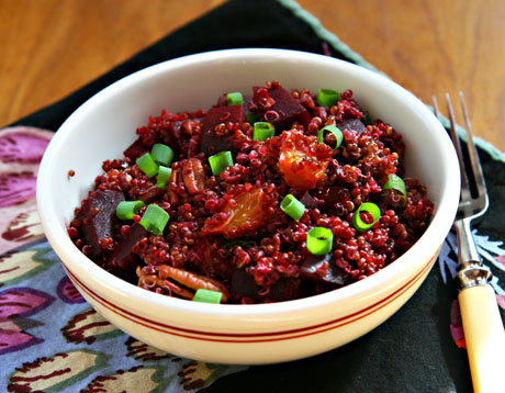 Red-quinoa-and-beet-salad