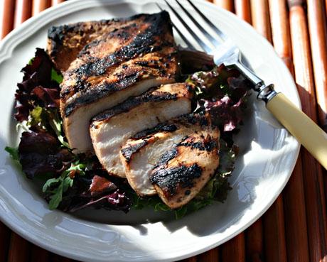 Chicken tikka-masala style