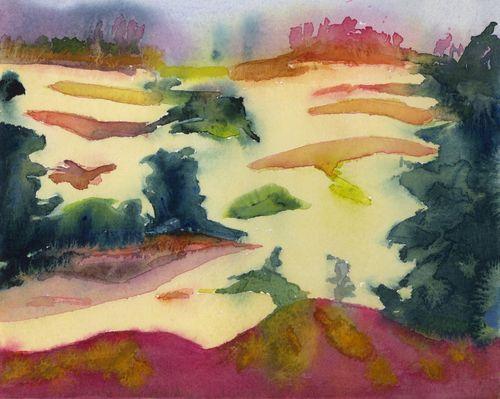 Fall Dunes #1 7.5 x 9.5