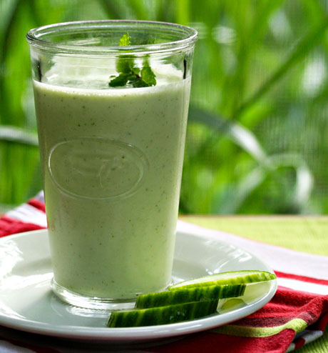 Cucumber-smoothie