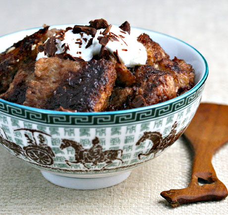Recipe for slow cooker chocolate and Nutella® bread pudding - The ...