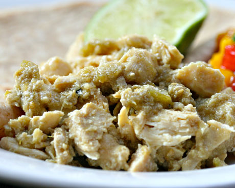 Slow-cooker-green-chile-chicken