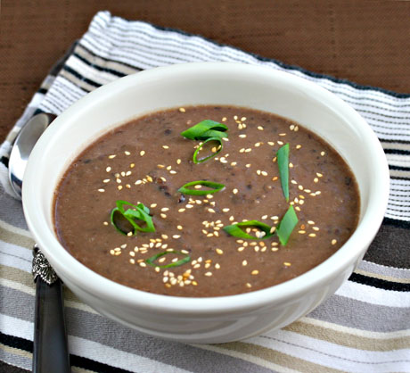 Korean-style-black-bean-soup