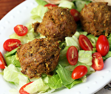 Moroccan-turkey-meatballs-detail