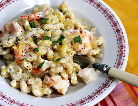 Pasta-with-shrimp-lemon-herbs-and-feta