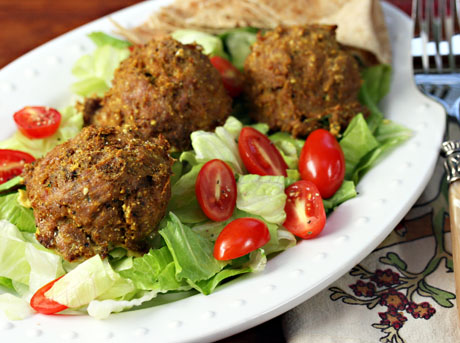 Moroccan-turkey-meatballs