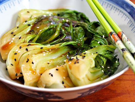 ... Perfect Pantry®: Recipe for bok choy stir-fry with ginger and garlic